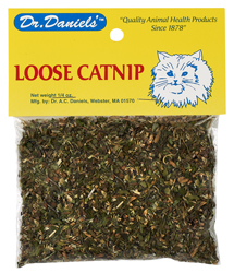 Loose Catnip Leaves and Tops 1/4 oz bag