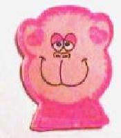 Pink Happy Monkey Catnip Toy