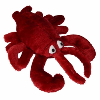 Jumbo Plush Lobster Dog Toy