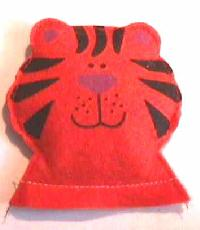 Tiger Catnip Toy