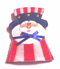 Uncle Sam Catnip Toy - Click Image to Close